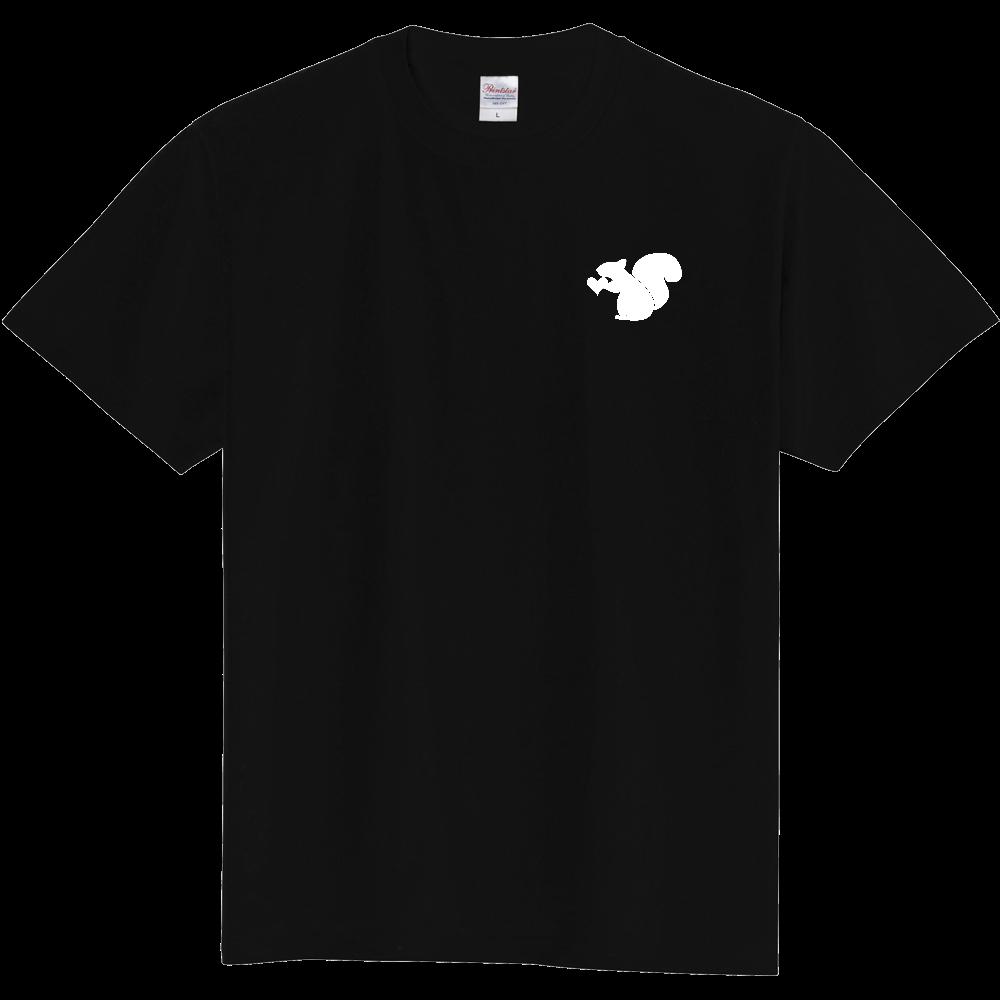 リス(白) 定番Tシャツ