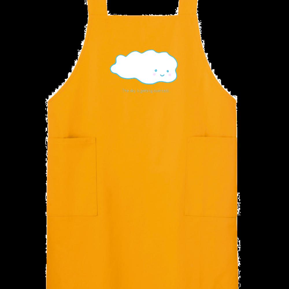 エプロン 雲さん柄 H型エプロン