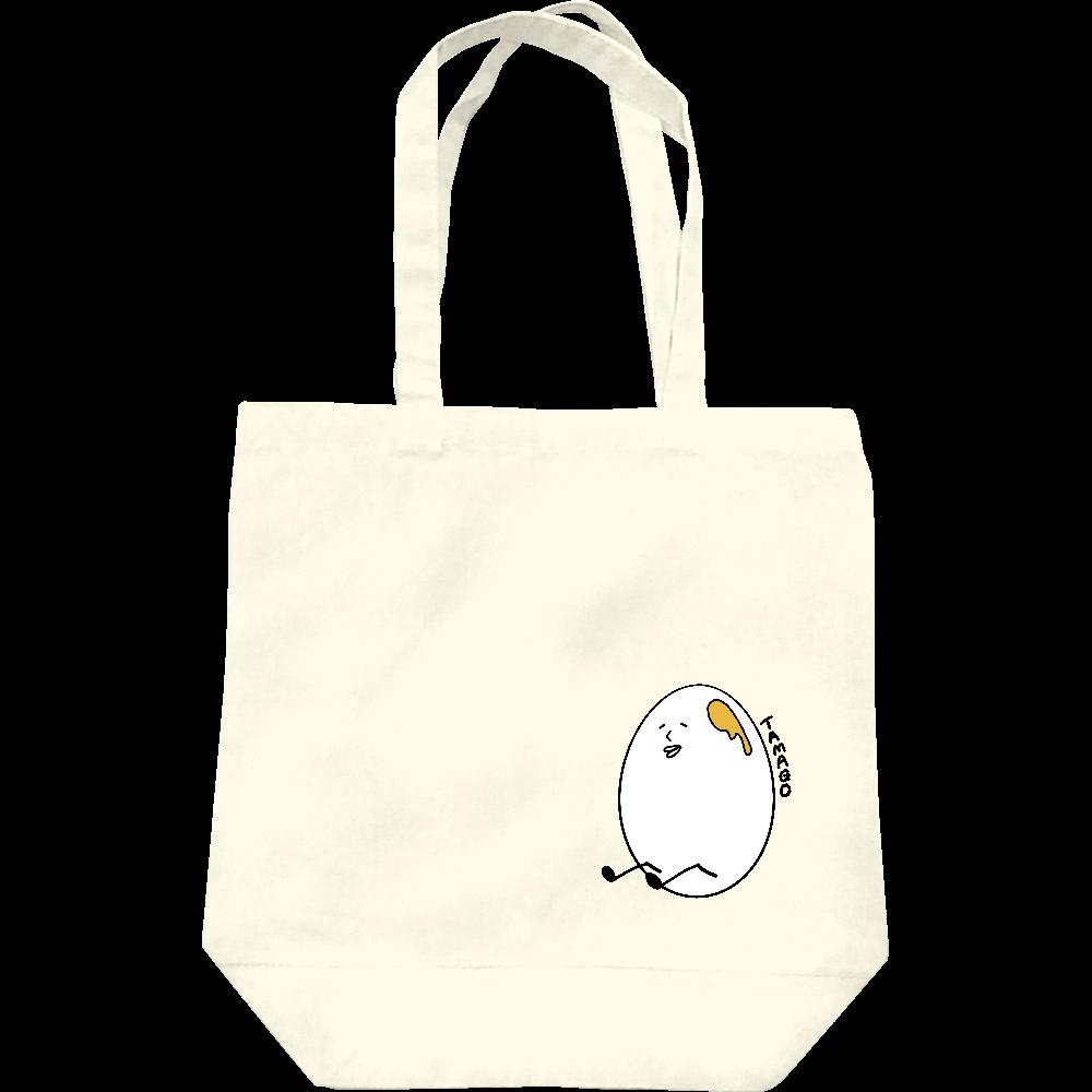 【オリラボマーケット限定】たまご トートバッグ レギュラーキャンバストートバッグ(M)
