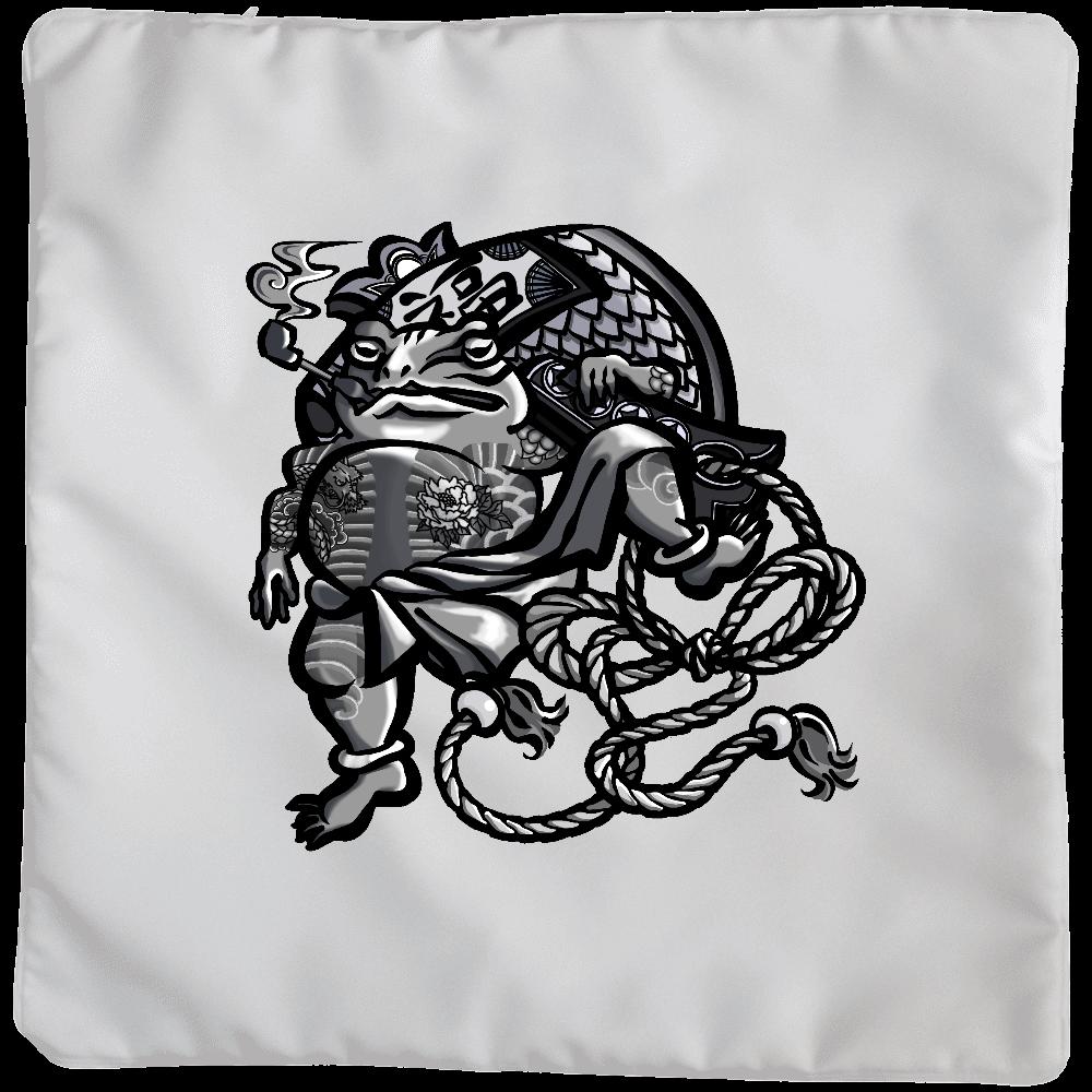 福を呼ぶ蛙と打ち出の小づち クッションカバー(大)カバーのみ