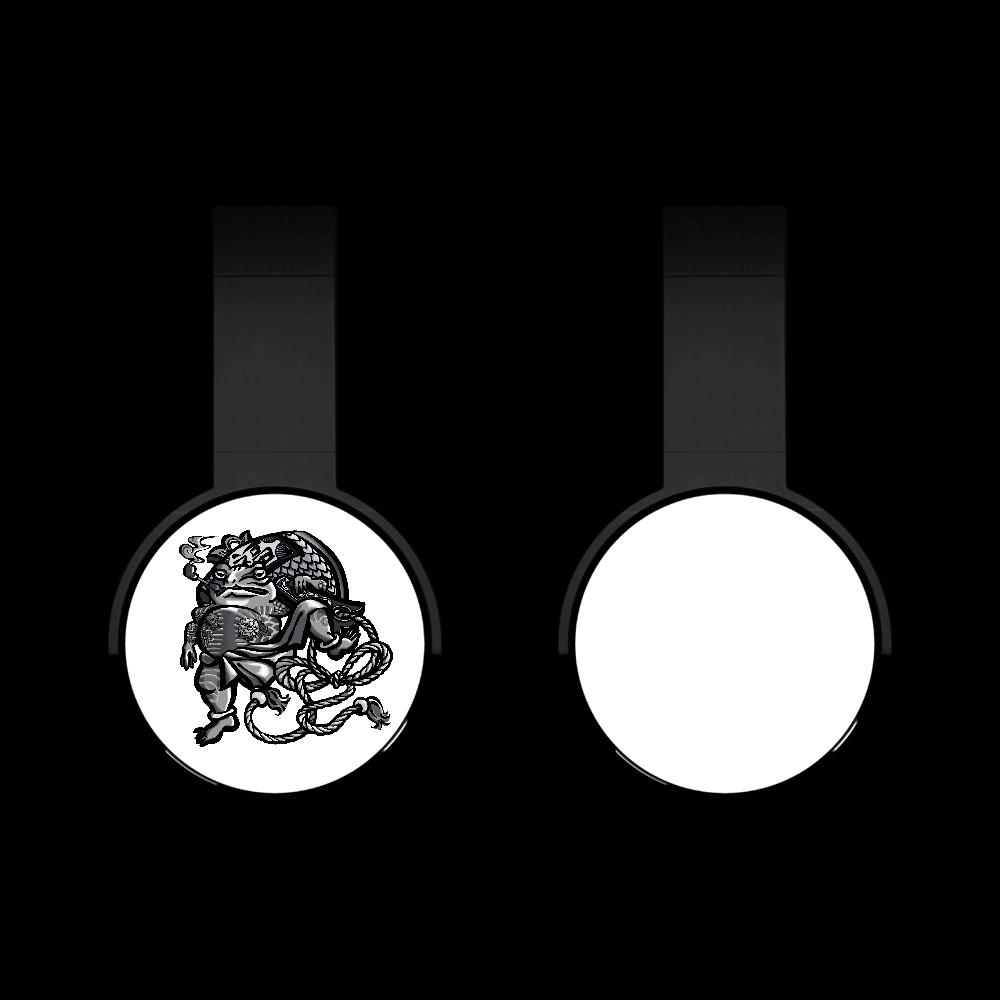 福を呼ぶ蛙と打ち出の小づち Bluetoothヘッドフォン
