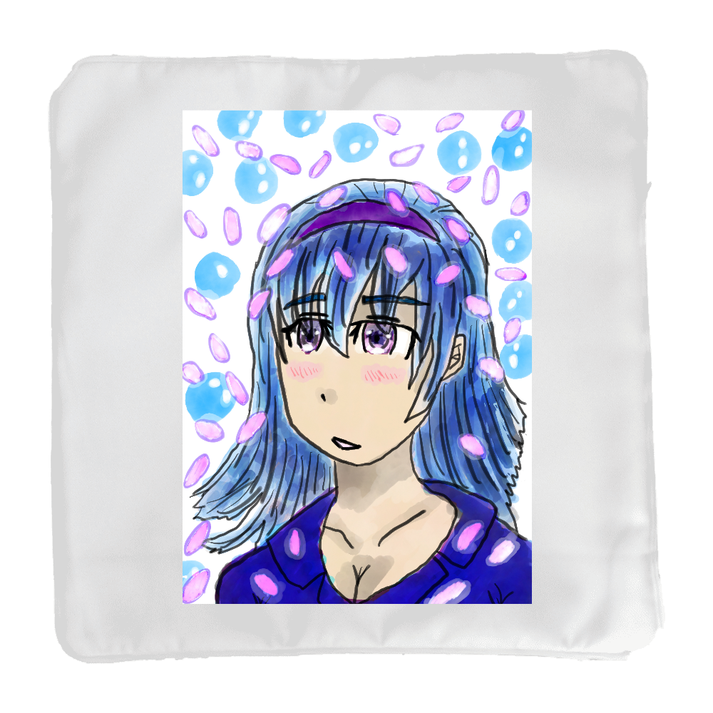 淡い少女 ORILAB MARKET.Version.11 クッション(小)