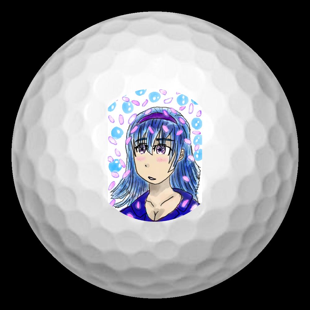 淡い少女 ORILAB MARKET.Version.11 ゴルフボール(3個セット)