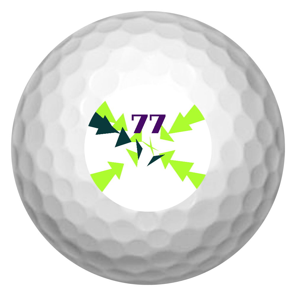 集中 ゴルフボール(3個セット)