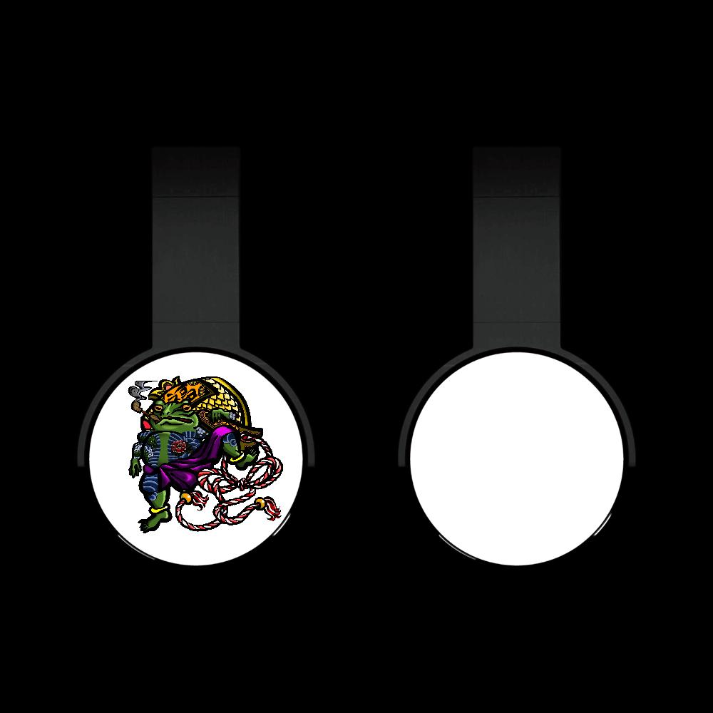 福を呼ぶ蛙と打ち出の小づち 彩色仕様 Bluetoothヘッドフォン