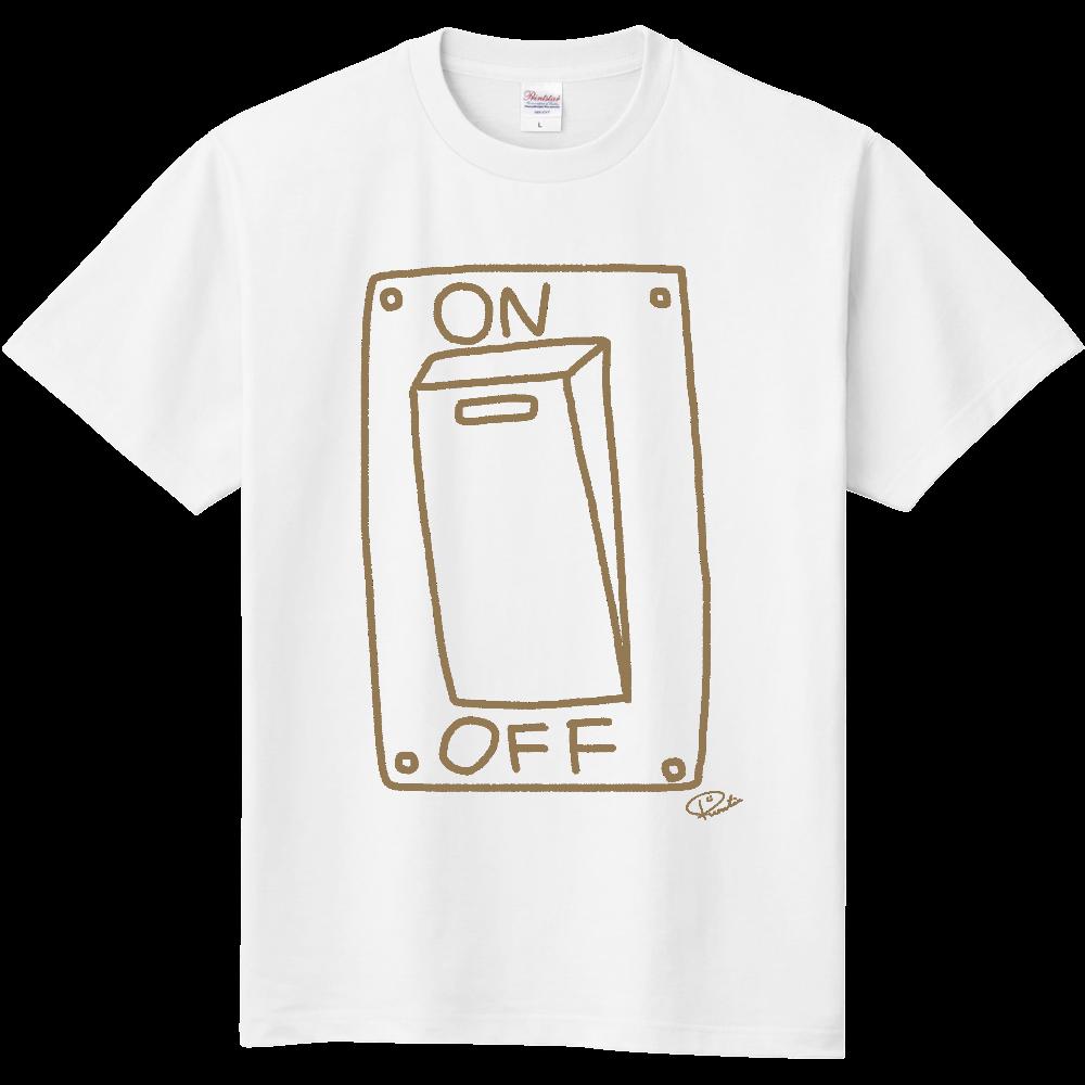 シンプルなやる気スイッチ 定番Tシャツ
