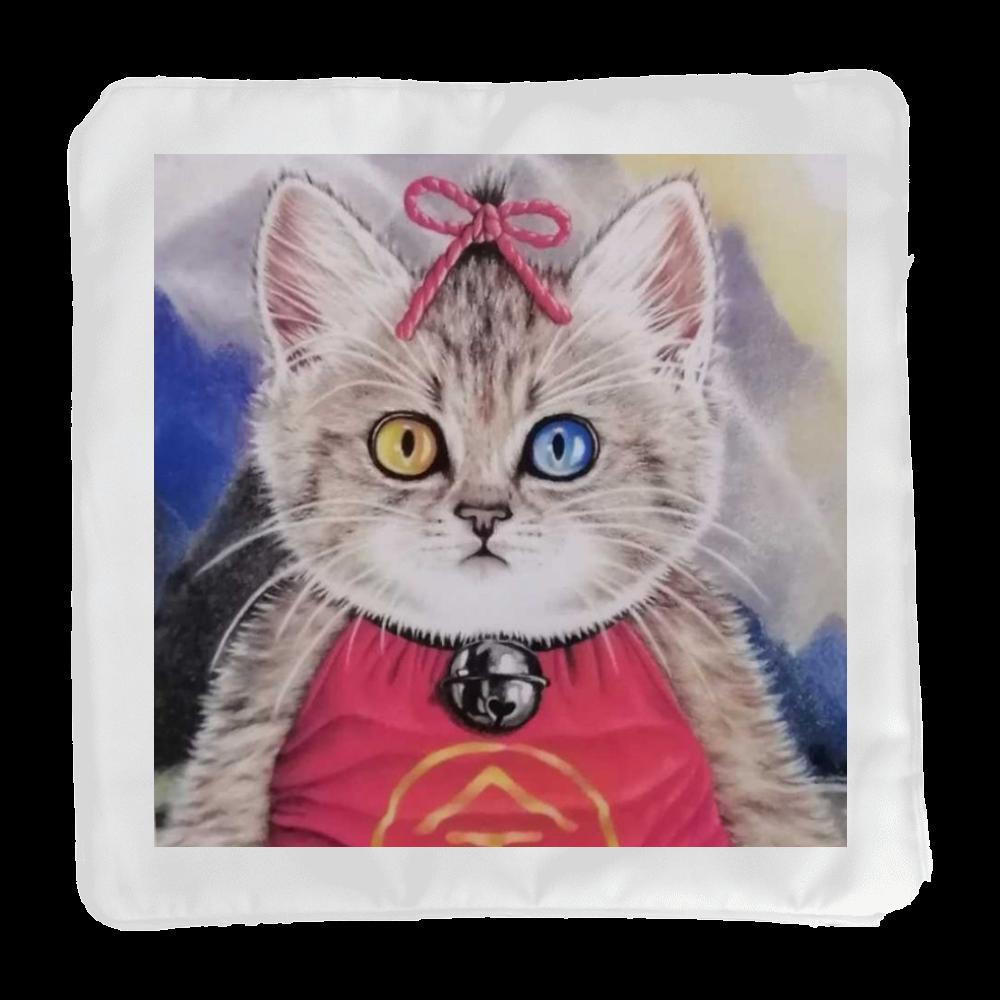クッションカバーのみ 金太郎風のキジ猫 クッションカバー(小)カバーのみ
