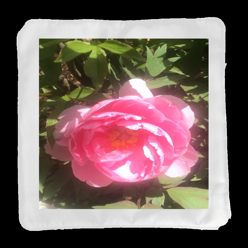 牡丹の花柄クッション クッション(小)