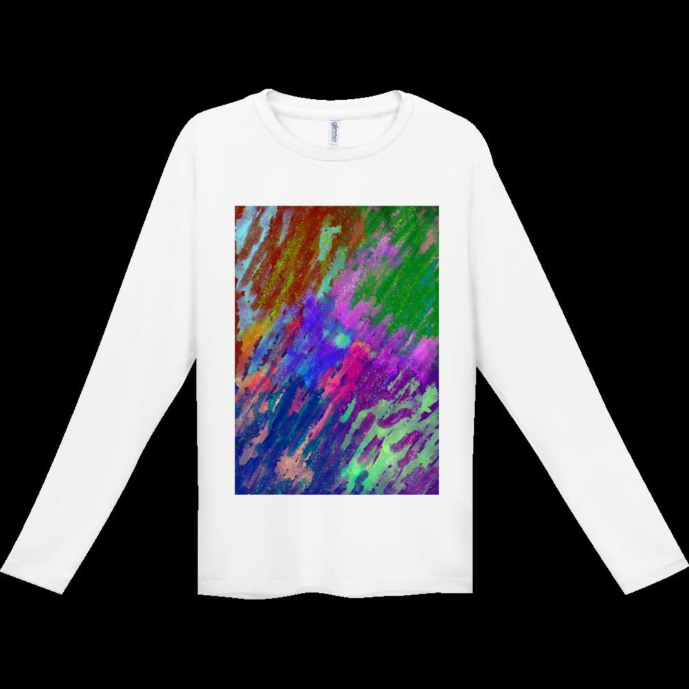 銀河系 ORILAB MARKET.Version インターロック ドライ長袖Tシャツ