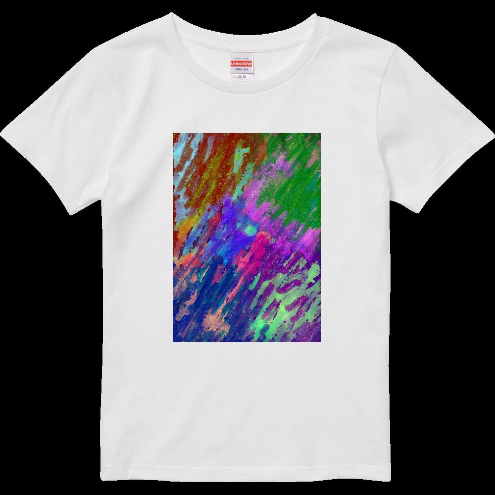 銀河系 ORILAB MARKET.Version.5 ハイクオリティーTシャツ(ガールズ)