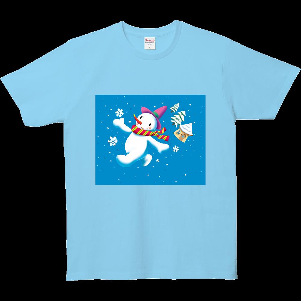 お散歩雪だるまくん 5.0オンス ベーシックTシャツ(キッズ)