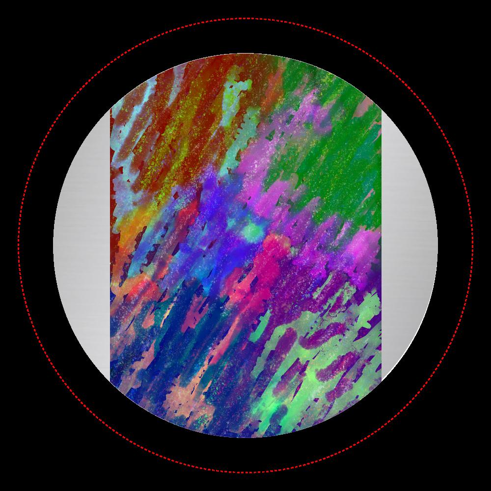銀河系 ORILAB MARKET.Version.11 オリジナル缶バッジ(44mm)