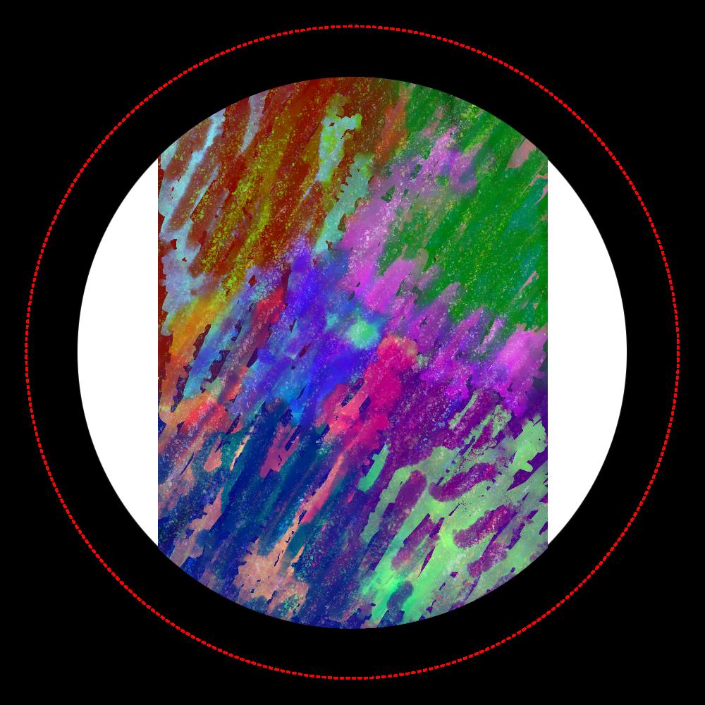銀河系 ORILAB MARKET.Version.11 オリジナル缶バッジ白背景(44mm)