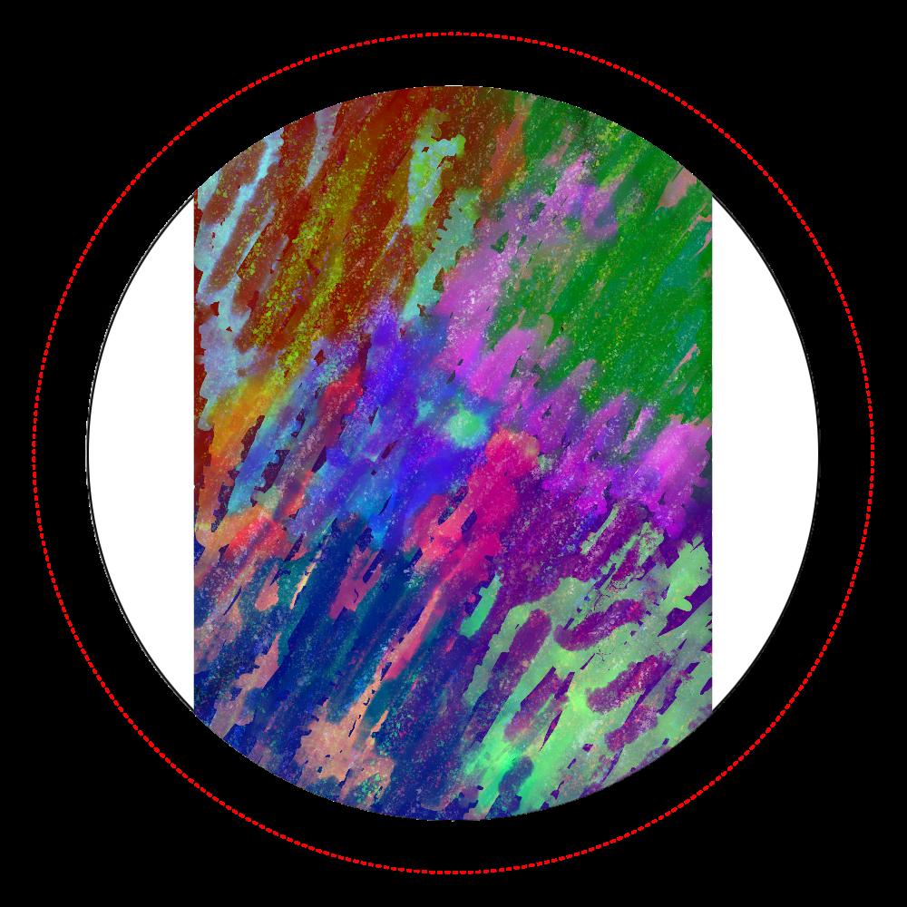 銀河系 ORILAB MARKET.Version.11 オリジナル缶バッジ白背景(56mm)