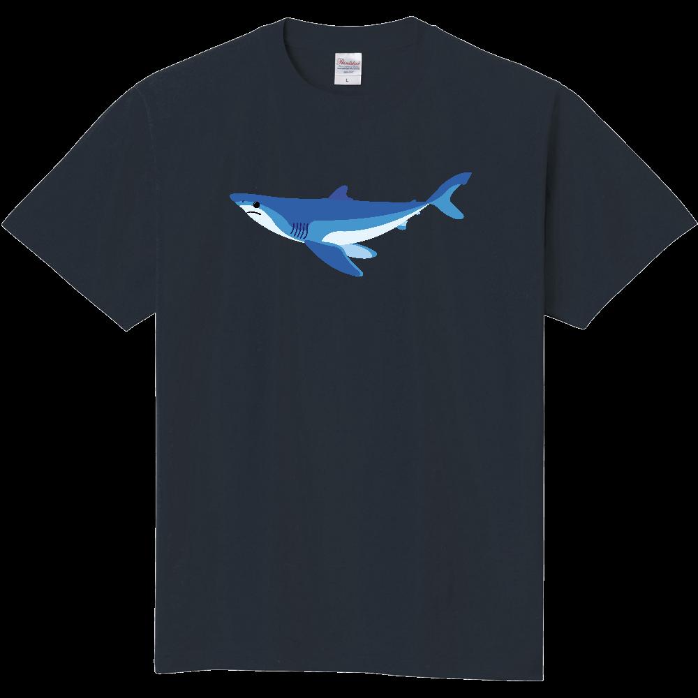 シンプルなアオザメ 定番Tシャツ