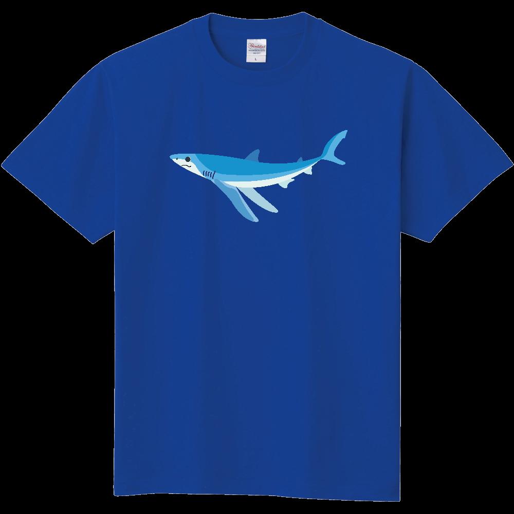 シンプルなヨシキリザメ 定番Tシャツ