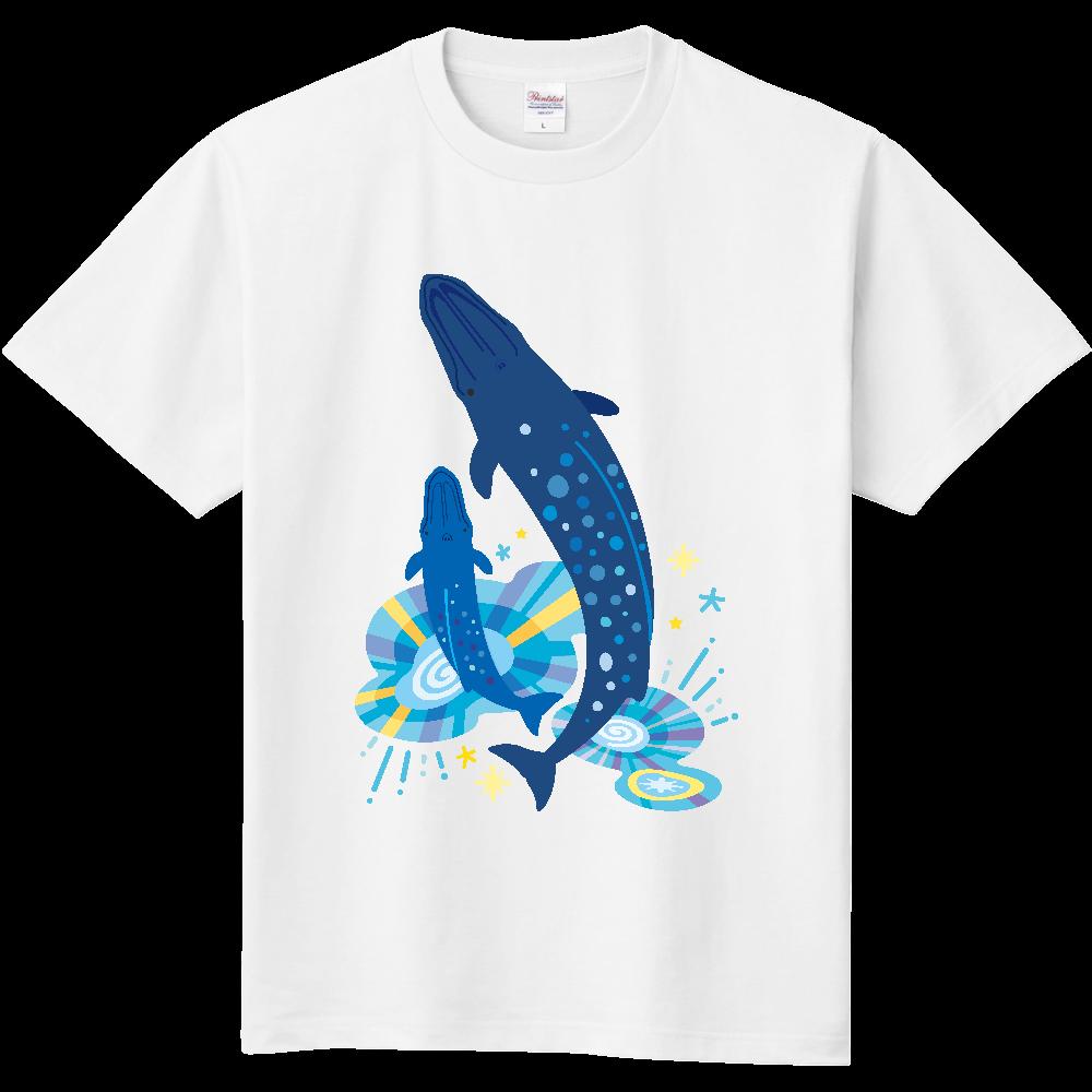 シロナガスクジラの親子 定番Tシャツ