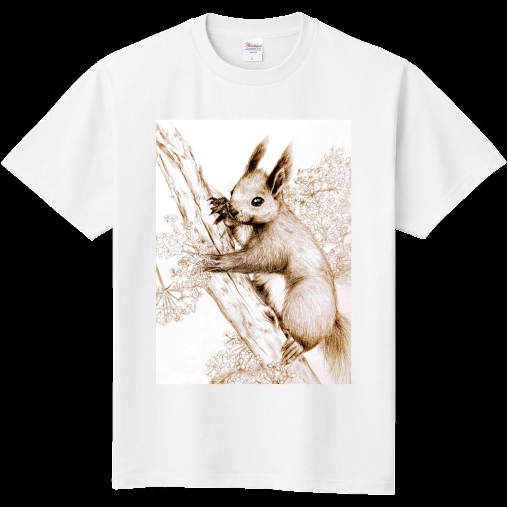 エゾリスのこども 定番Tシャツ