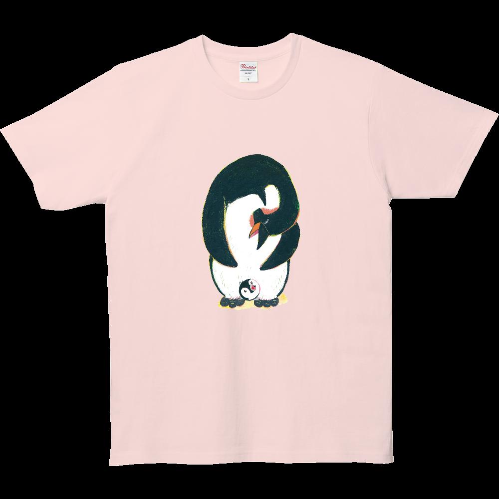 ペンギンの親子-01 5.0オンス ベーシックTシャツ(キッズ)