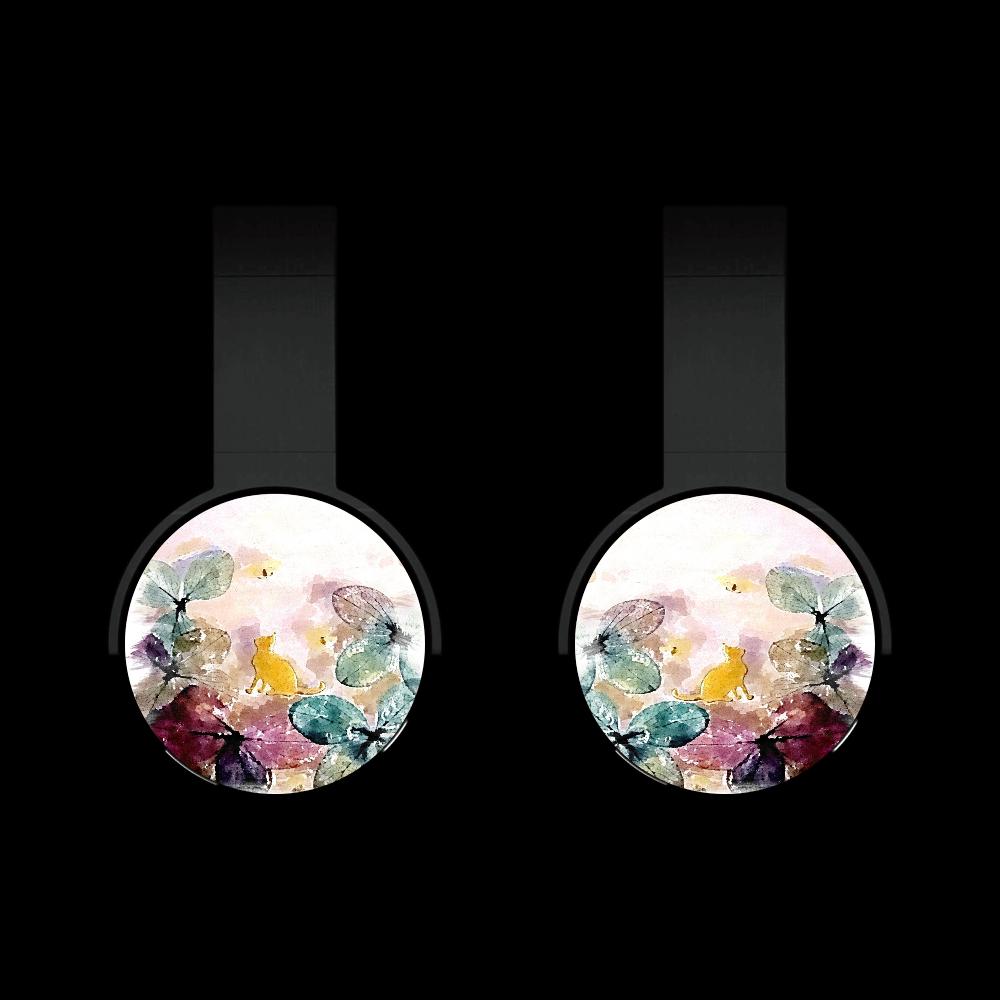 ノシタルジックねこ Bluetoothヘッドフォン
