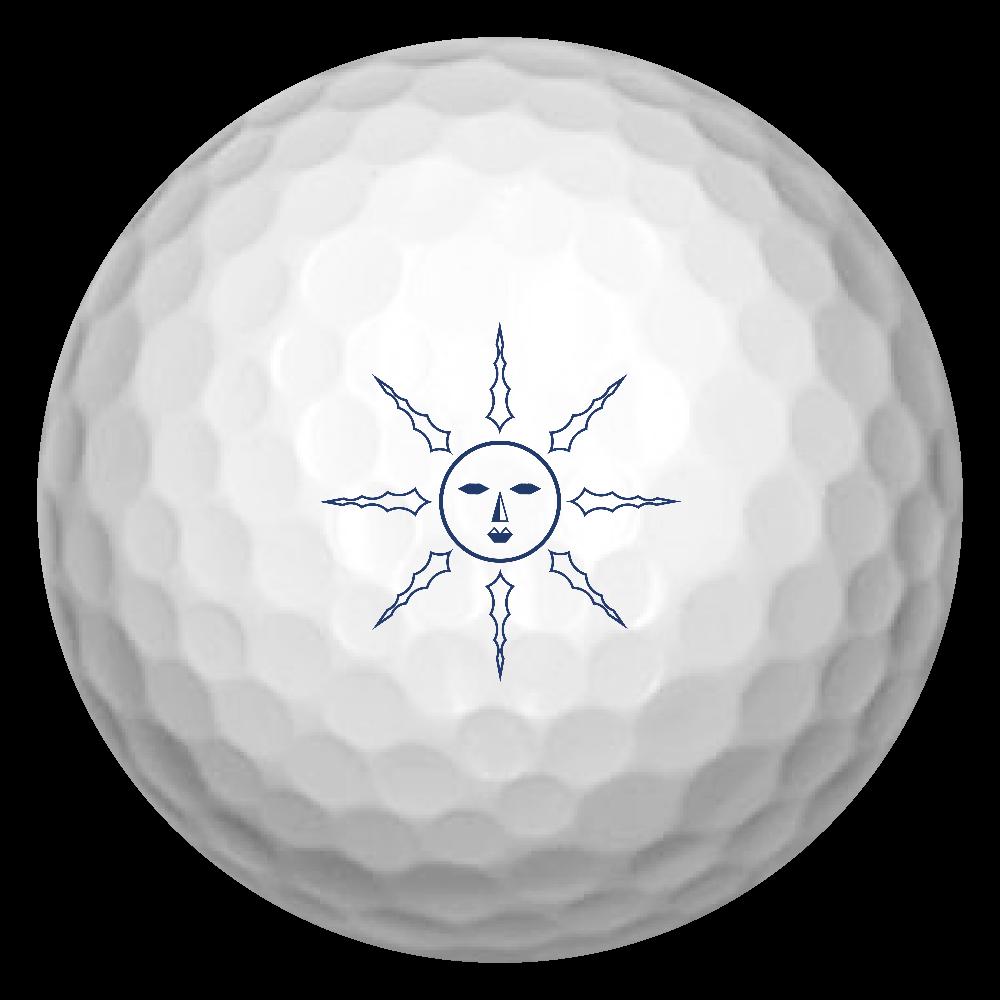 太陽 ゴルフボール(3個セット)
