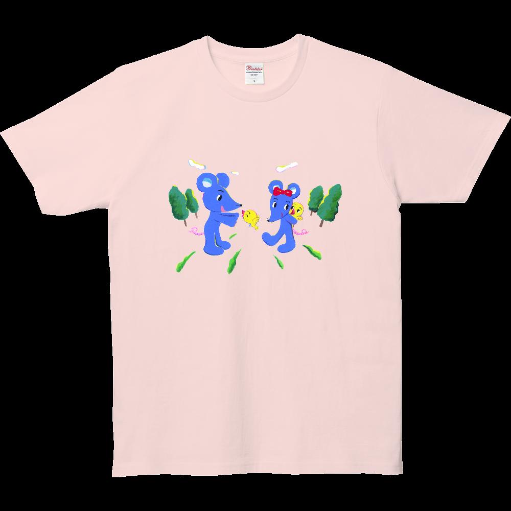 タッくんチーちゃん-01 5.0オンス ベーシックTシャツ(キッズ)