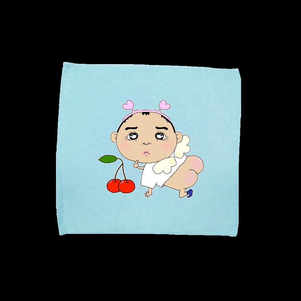 小さいおじさん天使 ハンドタオル