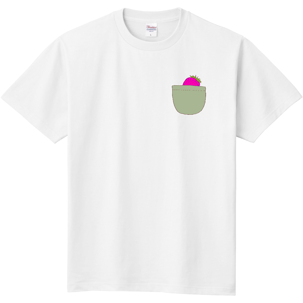 イチゴポケットとPINK栗鼠さん 定番Tシャツ
