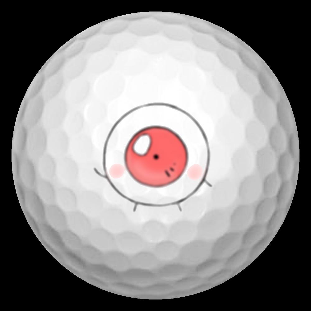 おめめくんゴルフボール ゴルフボール(3個セット)