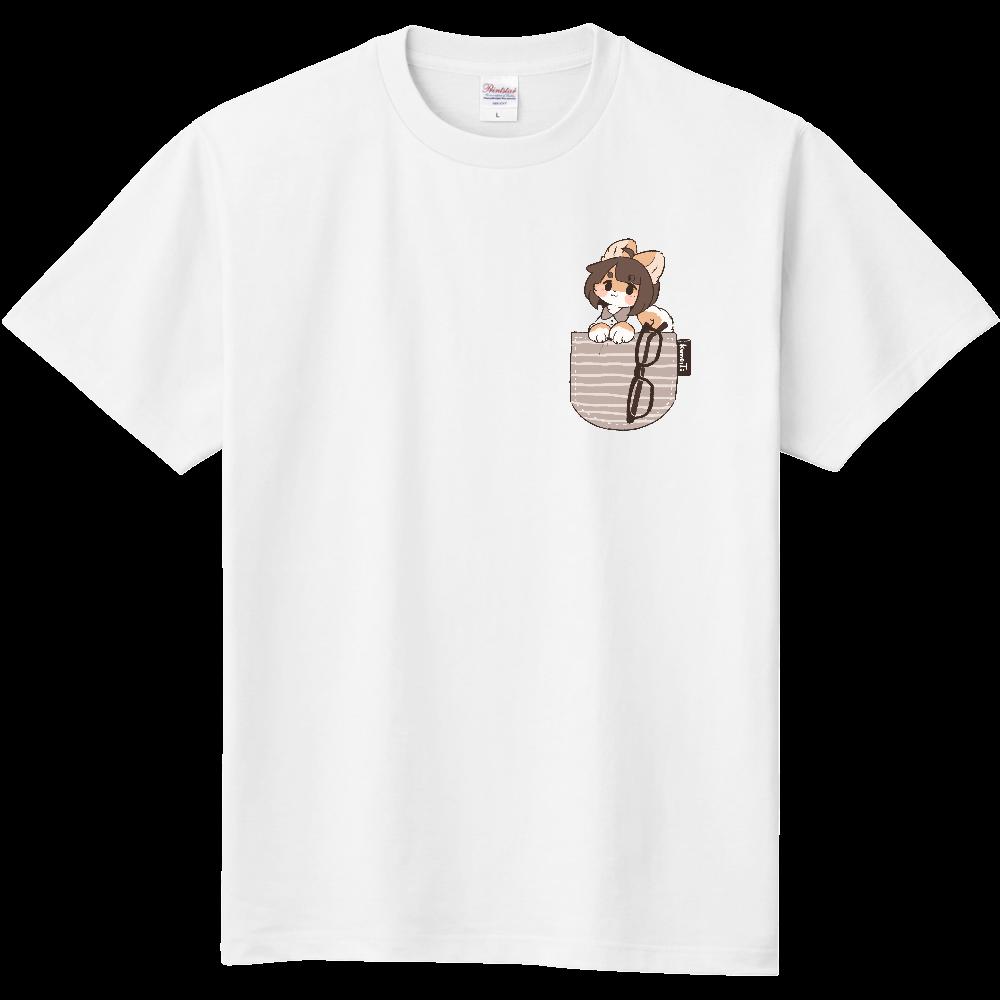 ポケット風くめっTシャツ 定番Tシャツ