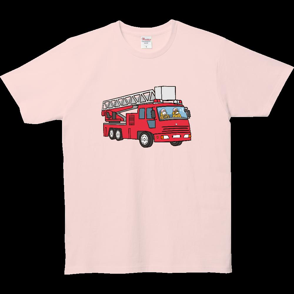 乗り物いっぱい、消防車 5.0オンス ベーシックTシャツ(キッズ)