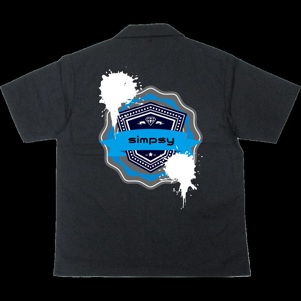 シンプシーシャツ T/Cオープンカラーシャツ
