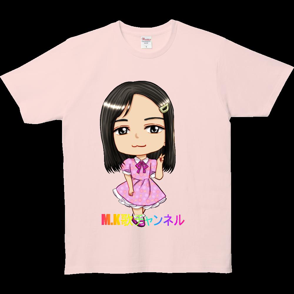 M.K歌チャンネルメンバーno.3 5.0オンス ベーシックTシャツ(キッズ)