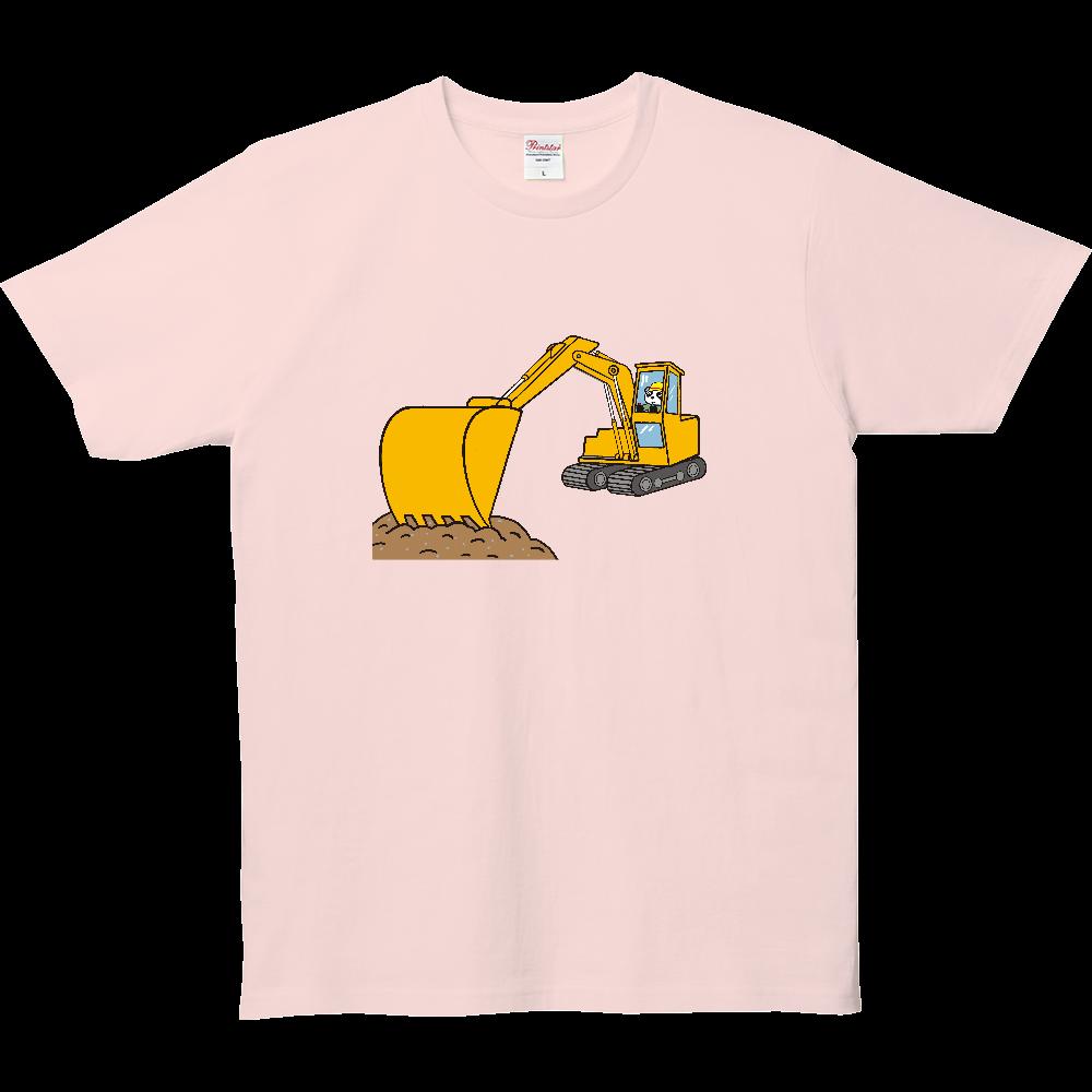 のりものいっぱい、ショベルカー 5.0オンス ベーシックTシャツ(キッズ)