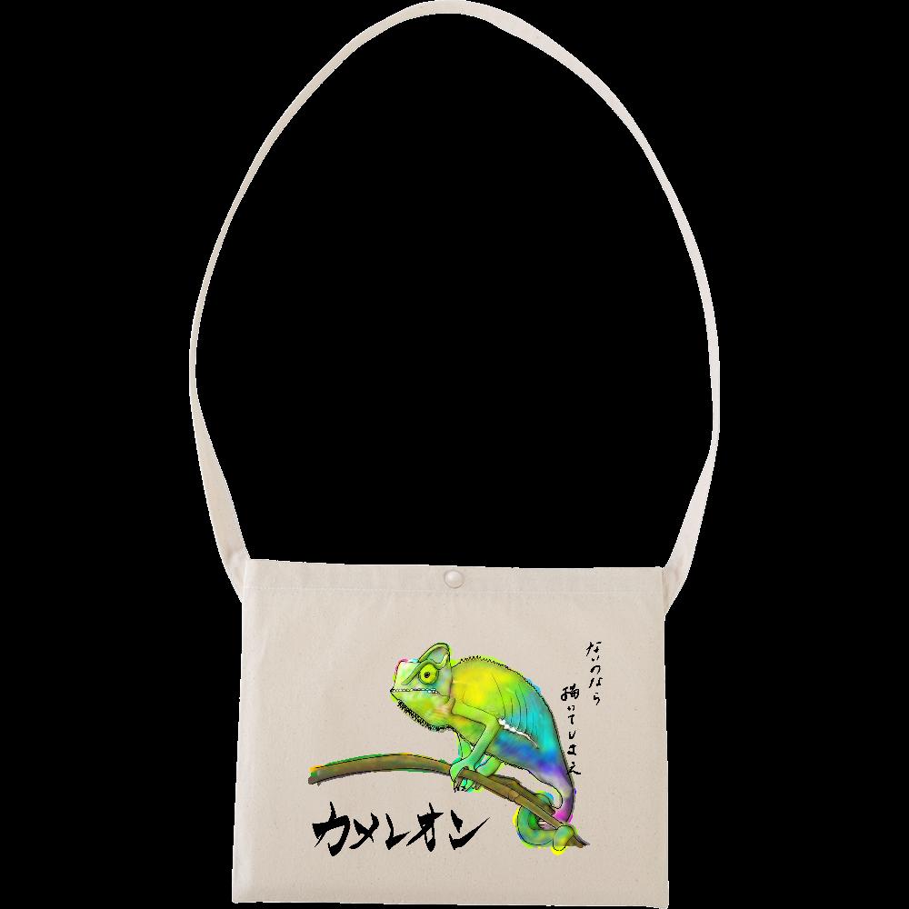 カメレオン goods MiZ キャンパスサコッシュ キャンバスサコッシュ