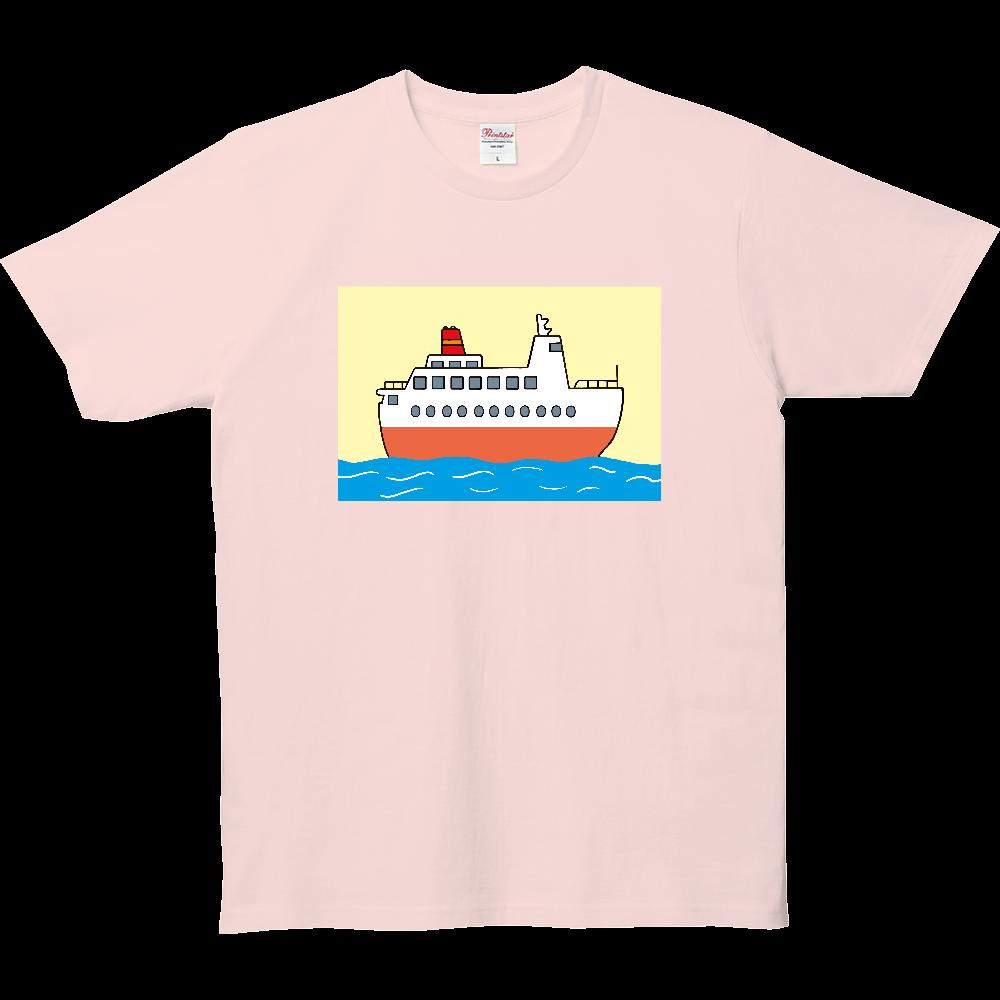のりものいっぱい、船 5.0オンス ベーシックTシャツ(キッズ)