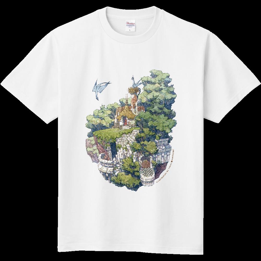 空中廃墟 Tシャツ(サイン黒ver) 定番Tシャツ