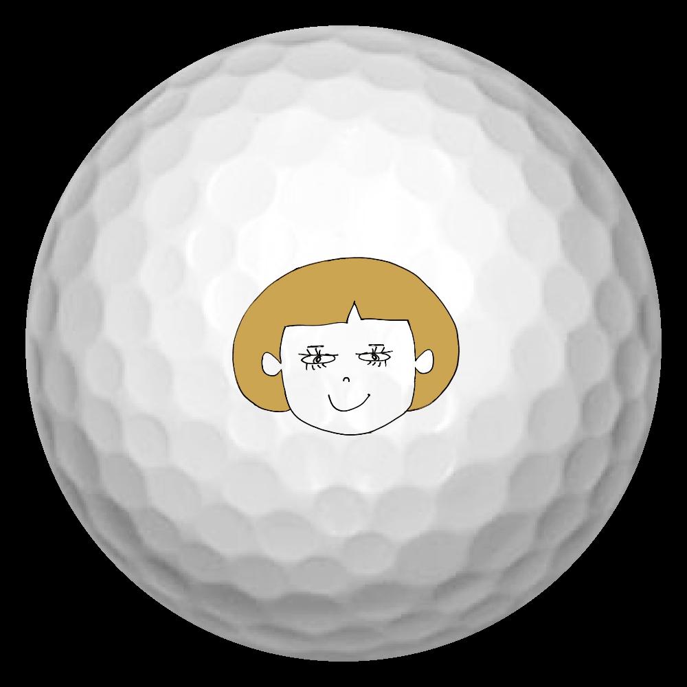 ユラちゃん ゴルフボール(3個セット)