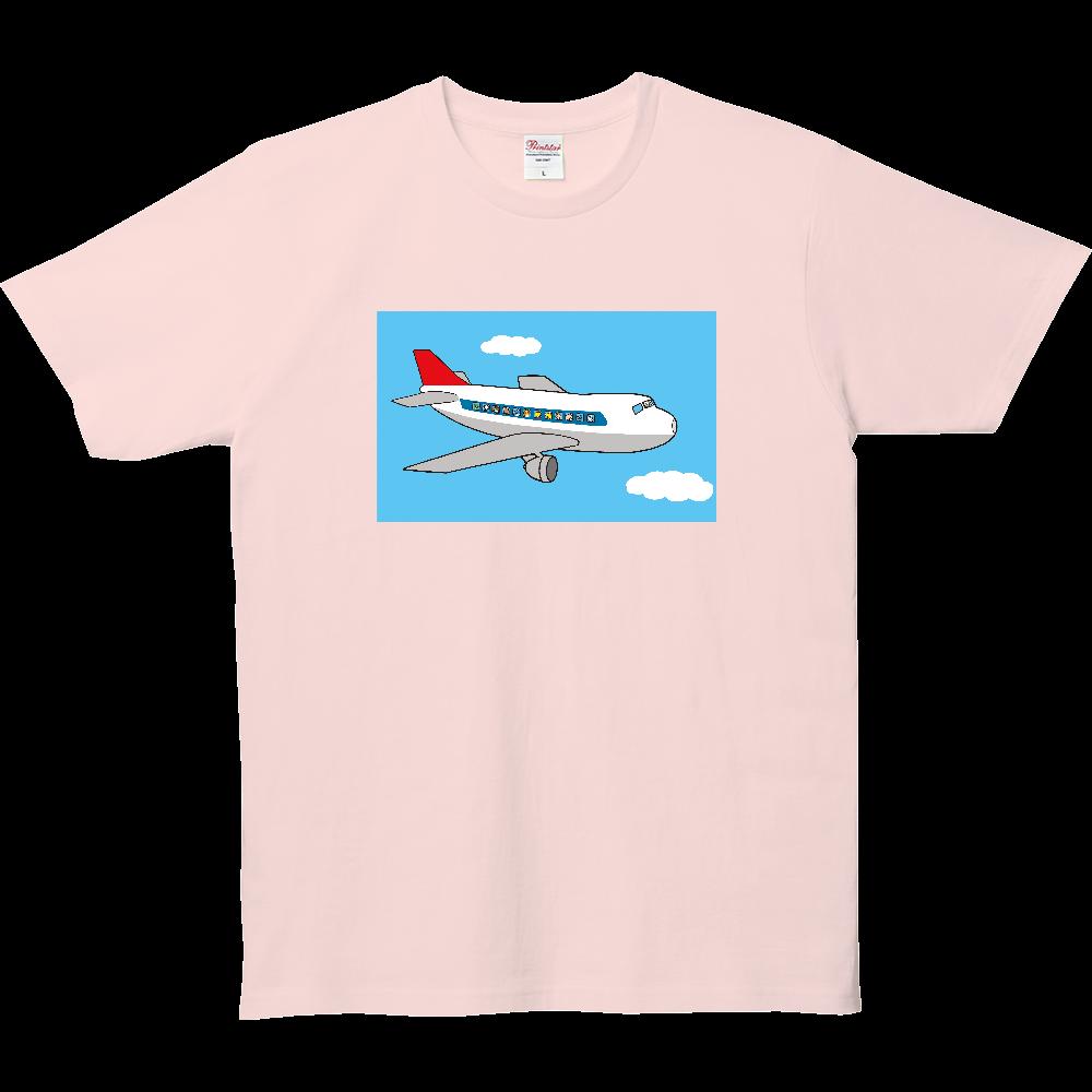 のりものいっぱい、飛行機 5.0オンス ベーシックTシャツ(キッズ)
