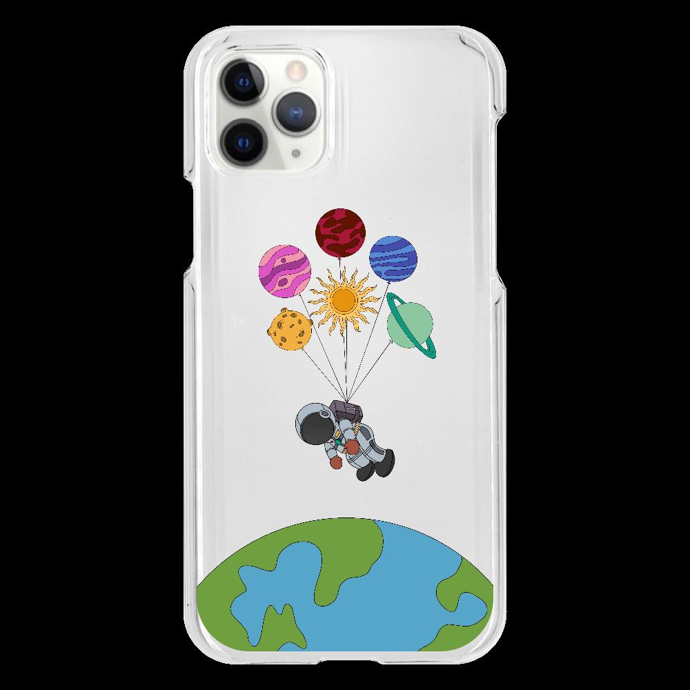 小さな宇宙飛行士 iphone11 pro クリアケース iPhone11 Pro(透明)