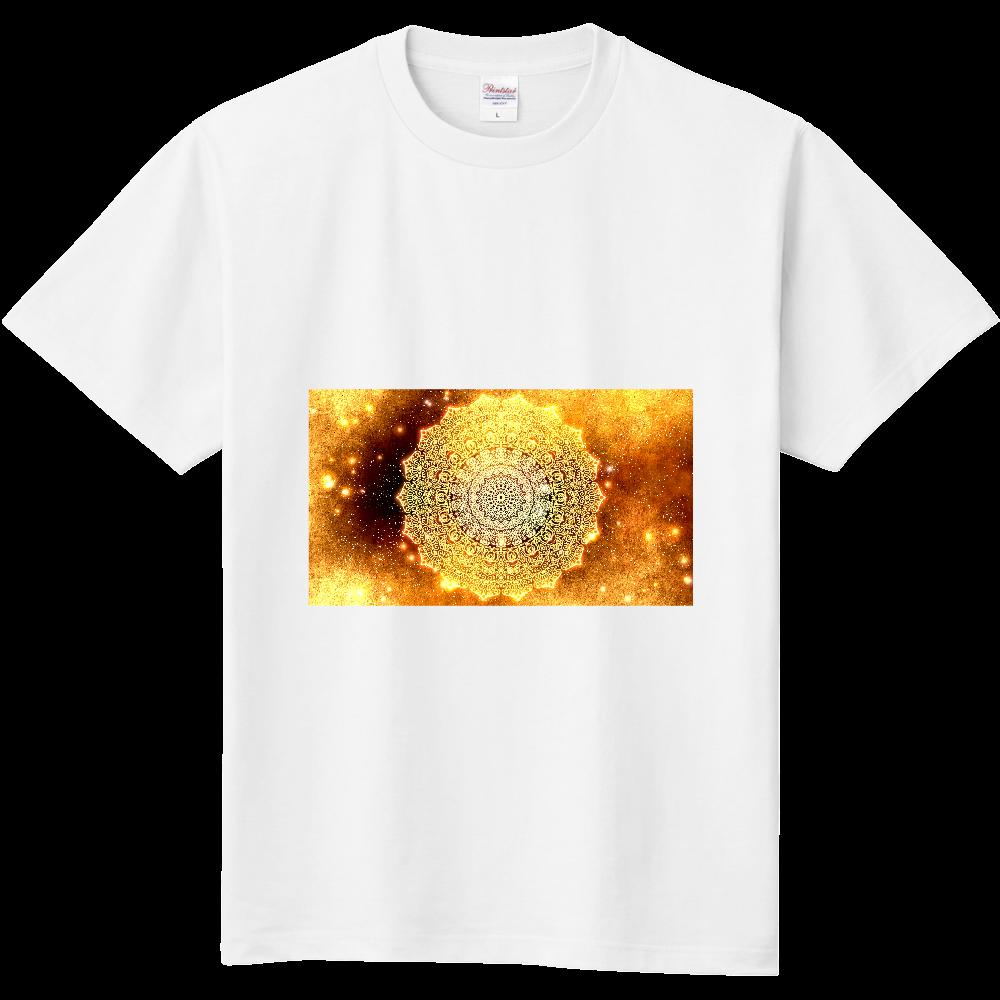【金運・本来の豊かさを受け取る】曼荼羅アート 定番Tシャツ