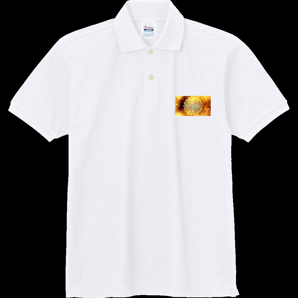 【金運・本来の豊かさを受け取る】曼荼羅アート 定番ポロシャツ