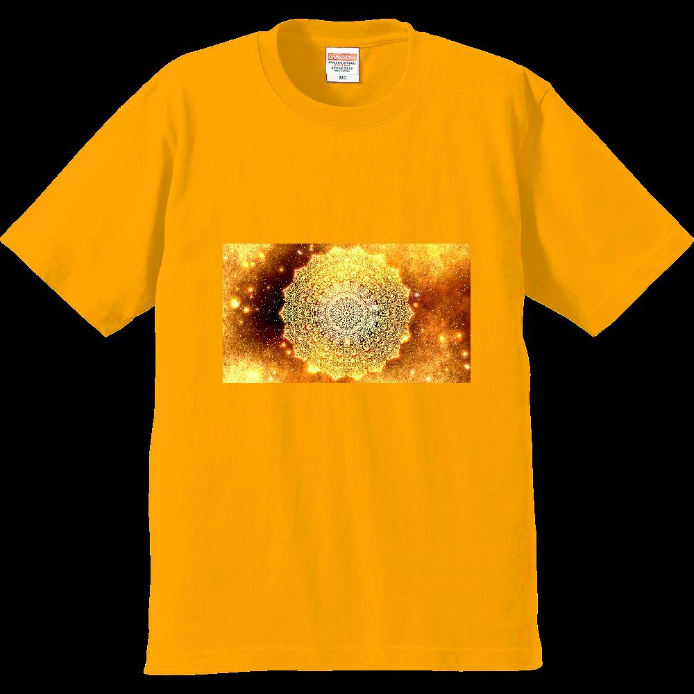 【金運・本来の豊かさを受け取る】曼荼羅アート プレミアムTシャツ