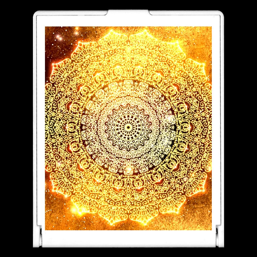【金運・本来の豊かさを受け取る】曼荼羅アート スクエアミラー