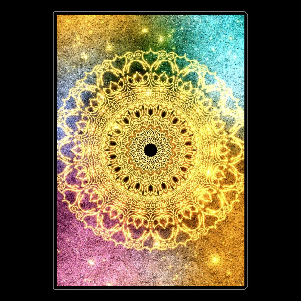 【望む現実へ移行】曼荼羅アート ソフトレザーノート