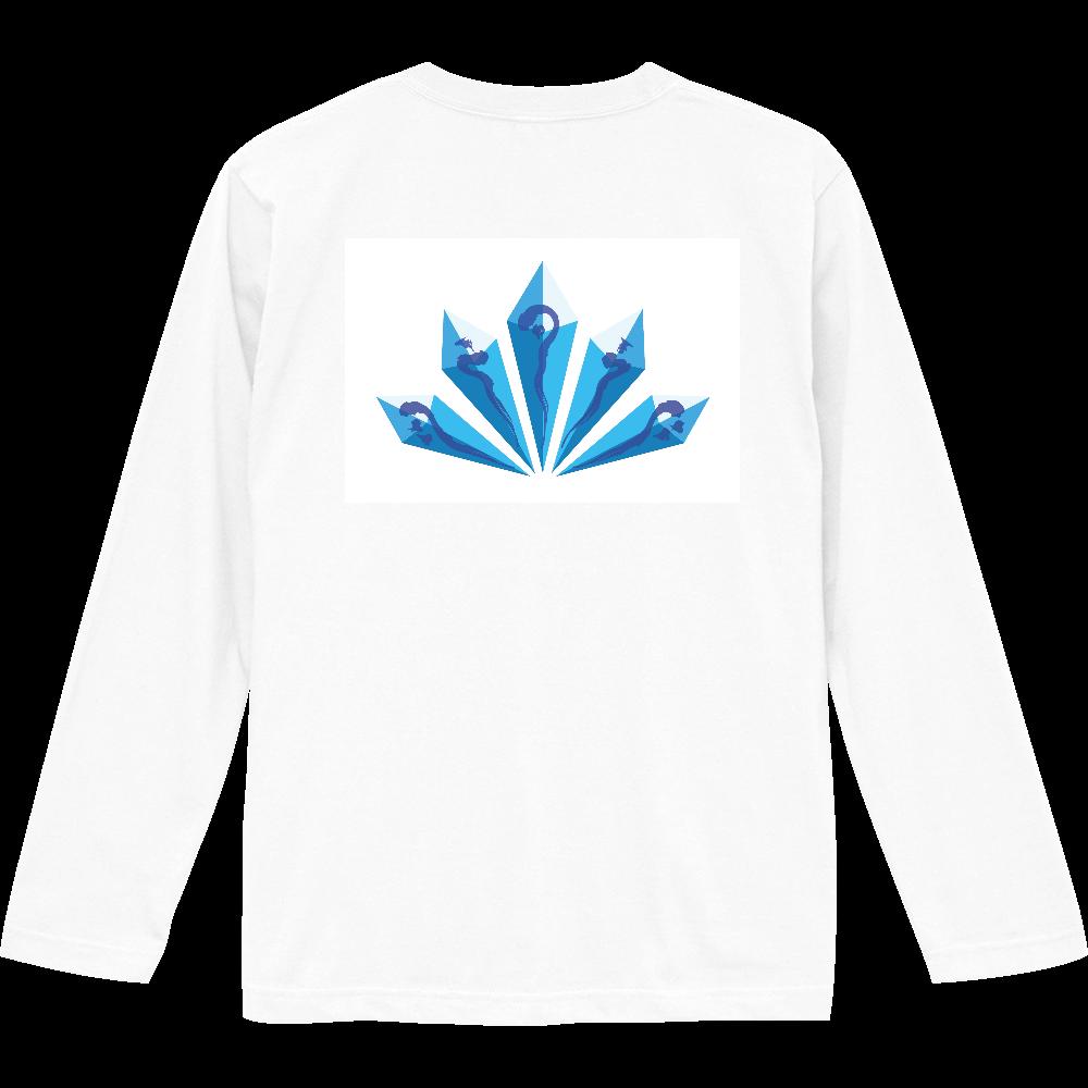 水晶 ロングスリーブTシャツ