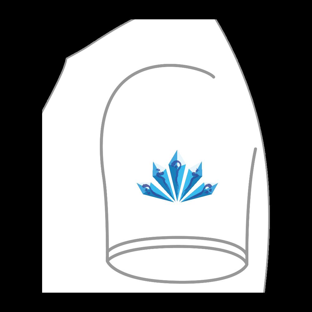 水晶 ハイクオリティーTシャツ