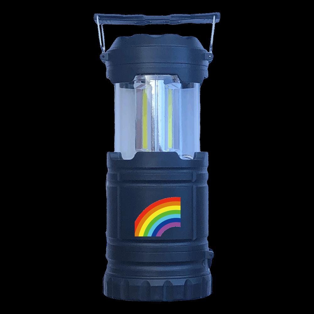 Rainbow ビッグライトフェイスランタン