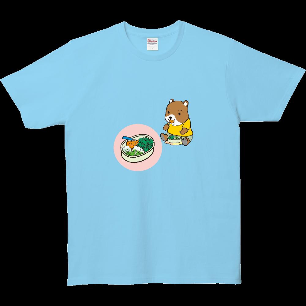 おべんとうTシャツ、ハムスターさんのお弁当。 5.0オンス ベーシックTシャツ(キッズ)