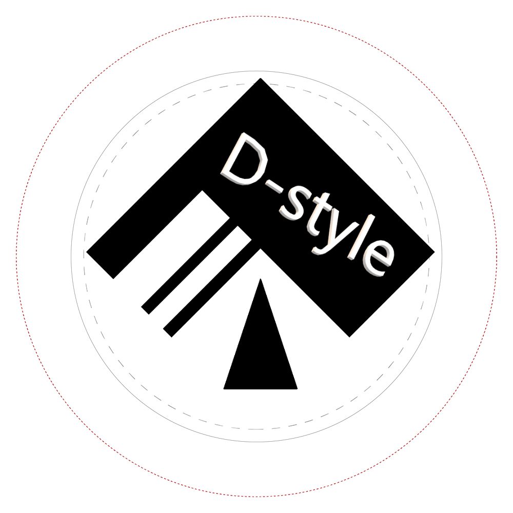 D-style缶バッチ  44㎜缶バッジ